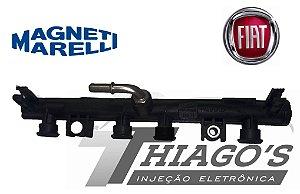 Flauta de combustível - Fiat Uno / Palio /  Punto / Strada 1.4 8V - 55228295