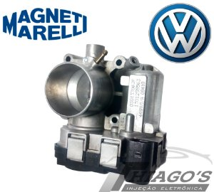 Corpo de borboleta - TBI Volkswagen Fox / Gol / Voyage 1.0 / Kombi 1.4 Flex - 44SMV5/A - 030133062F