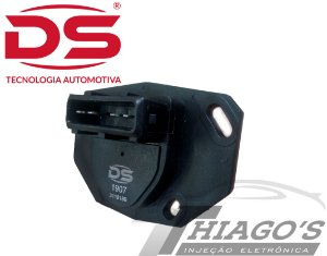 Potenciômetro - DS1907/TPS - Tipo / Golf / Ibiza - 3437020406