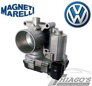 Corpo de borboleta - TBI Volkswagen Fox / Gol / Voyage 1.0 / Kombi 1.4 Gasolina - 030133062J / 44GTE3V/D