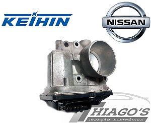 Corpo de borboleta - TBI Nissan March / Sentra / Versa 1.6 16v Flex - 3AA50-01
