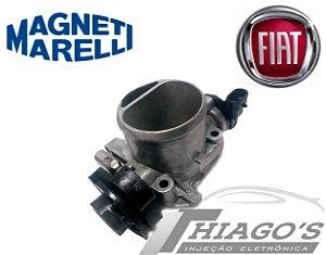 Corpo de borboleta - TBI Fiat Palio / Uno / Siena 1.0 - 1.5 Fire - 38SXBF01 (Sensor parafusado)