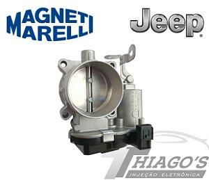 Corpo de borboleta - TBI Jeep Compass 2.0 16v Flex / Fiat Toro 2.4 Flex - 64GTE6CH