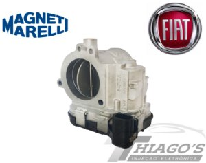 Corpo de borboleta - TBI Fiat Ducato / Peugeot Boxer / Citroen Jumper 2.3 16V - 54DTE3I - 504358629