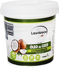 Óleo de Coco Extra Virgem 1 Litro - Lauricoco