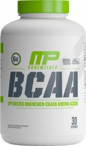 Bcaa 3:1:2 Powder Muscle Pharm 240 Capsulas