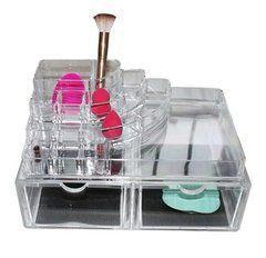 Porta Maquiagem Organizador de Acrilico 18