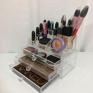 Porta Maquiagem de Acrilico  Organizador 67