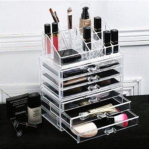 Gaveteiro de Maquiagem em Acrilico Organizador 69