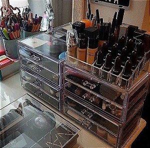 Porta Maquiagem Organizador de Acrilico 73