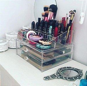 Gaveteiro de Acrilico Porta Maquiagem Organizador 89