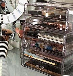 Gaveteiro de Acrilico para Maquiagem Organizador 99