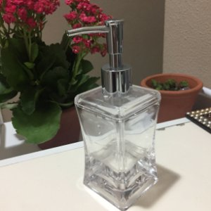 Porta Sabonete Liquido de Acrilico - DISPENSER 1