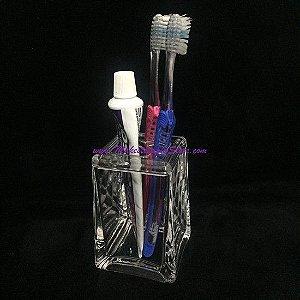 Pote de Acrilico Escova de Dente