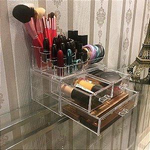Porta Maquiagem de Acrilico Organizador 140