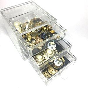 Gaveteiro Porta Joias de Acrilico Organizador 83