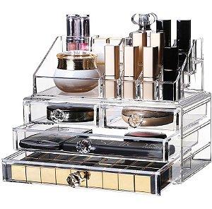 Porta Maquiagem Joias Acrílico - Organizador 44