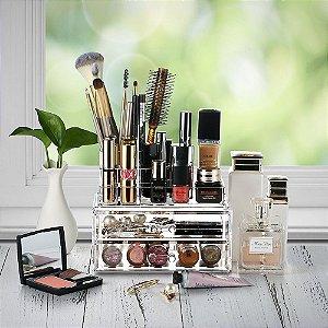 Porta Maquiagem Pequeno de Acrílico Organizador 159