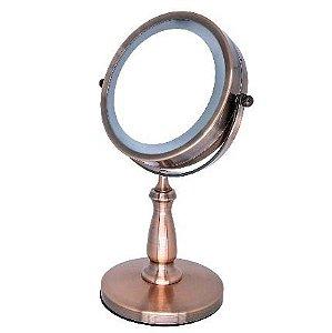 Espelho Cobre Com Luz Led