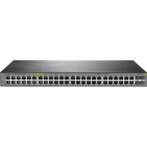 Switch 48p Gigabit (10/100/1000Mbps) + 4p SFP 24/24 PoE+ HPE 1920s - Gerenciável Layer 3
