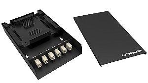Distribuidor Optico A146 Módulo Basico LC/SC Furukawa - Preto