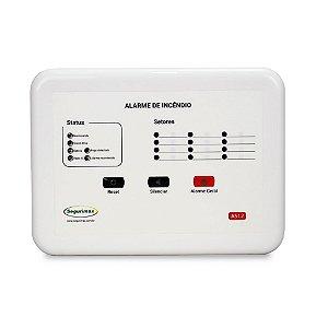Central de Alarme de Incêndio Convencional - 12V 12 setores