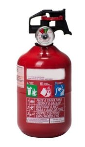 Extintor Veicular Pqs 1 kg ABC - vencimento  1ºsemestre 2024  (bolinha)