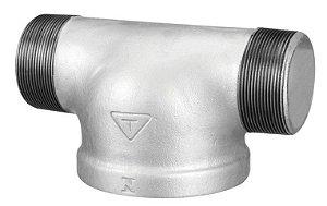 "Tê Galvanizado Para Hidrante - 4x2.1/2"""