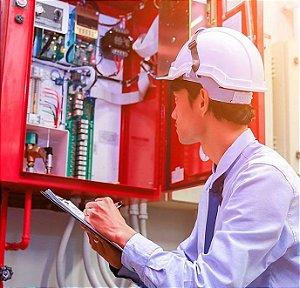 Instalação e manutenção de central de alarme