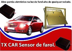 CONTROLE TX CAR - SENSOR DE FAROL