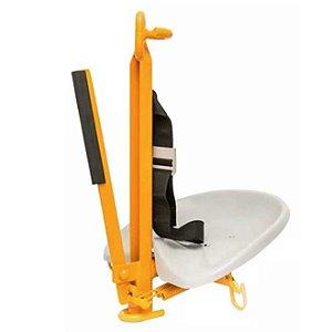 Cadeira Suspensa Para Trabalho em Altura Capacidade 140KG NR18 Fibramfer