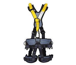 Cinturão tipo Paraquedista 5 Pontos e Proteção Lombar