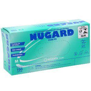 Luva Para Procedimento Nugard Nitril - Azul