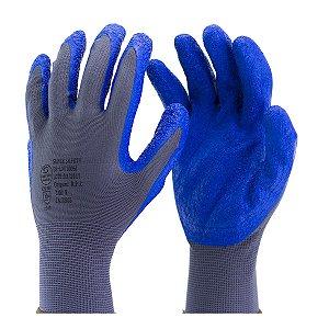 Luva suporte textil com banho em látex na palma SS 1005 TAM. 9