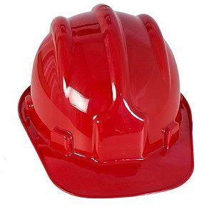 Capacete PLT C/ Selo Inmetro - Vermelho