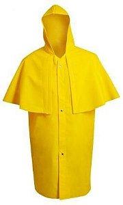 Capa PVC com Forro Morcego Amarela