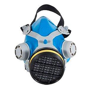 Respirador Semi Facial MASTT 2401 Completo com Cartucho VO/GA