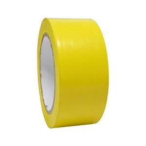 Fita De Demarcação Amarelo 48mm X 30mts - Plastcor