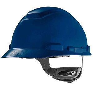 Capacete Seguranca 3m H-700 Azul com catraca