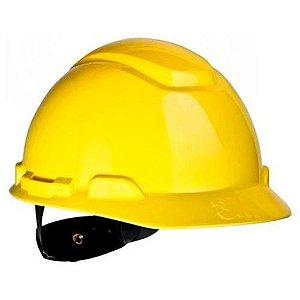 Capacete Seguranca 3m H-700 Amarelo Catraca