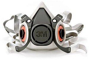 Respirador Semi Facial 3M Reutilizável Série 6200 CA 4115