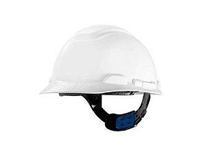 Capacete Seguranca 3m H-700 Branco Ajuste Facil