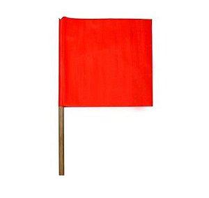 Bandeirola de sinalização Vermelha