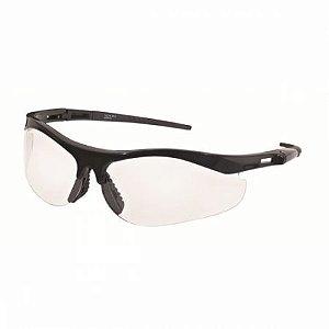 Óculos De Proteção Ss7 Incolor Haste Preta Anti Embaçante