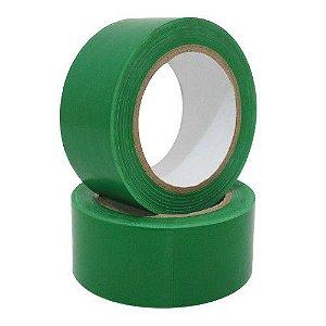 Fita De Demarcação De Solo Verde 48mm X 30mts - Plastcor