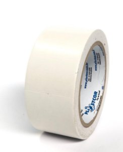 Fita De Demarcação De Solo Branca 48mm X 30mts - Plastcor