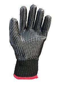Luva Tricotada Revestida em Látex  RUBBER BLACK  1012 C.A 34370