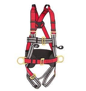 Cinto De Segurança Com 4 Pontos De Ancoragem STF-CQCT4121 Steel Flex Ca 41660