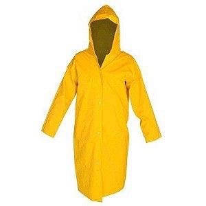Capa Pvc Forrado Reforçada Confort Amarela