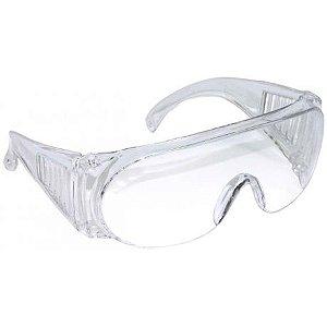 Oculos de Sobrepor Vvision 300 Transparente Antirrisco Ca 42718